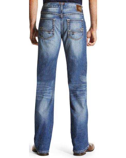 Ariat Men's M6 Adkins Midway Boot Cut Jeans, Indigo, hi-res