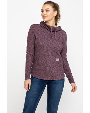 Carhartt Women's Newberry Cowl Neck Hoodie, , hi-res