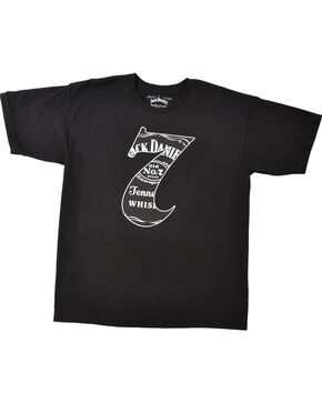 "Jack Daniel's Men's ""7"" Short Sleeve T-Shirt, Black, hi-res"