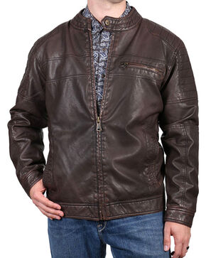 Cody James® Men's Easy Rider Jacket, Brown, hi-res