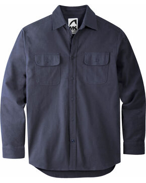 Mountain Khakis Men's Navy Ranger Chamois Shirt, Navy, hi-res