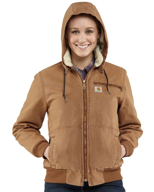 Carhartt Women's Wildwood Jacket, Brown, hi-res