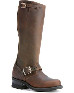 "Frye Women's Engineer 15RL 15"" Work Boots, Gaucho, hi-res"