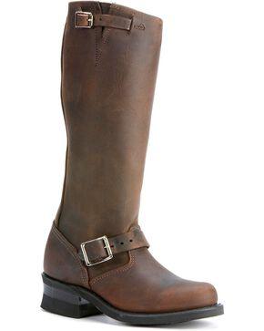 "Frye Women's Engineer 15RL 15"" Work Boots, Gaucho, hi-res"