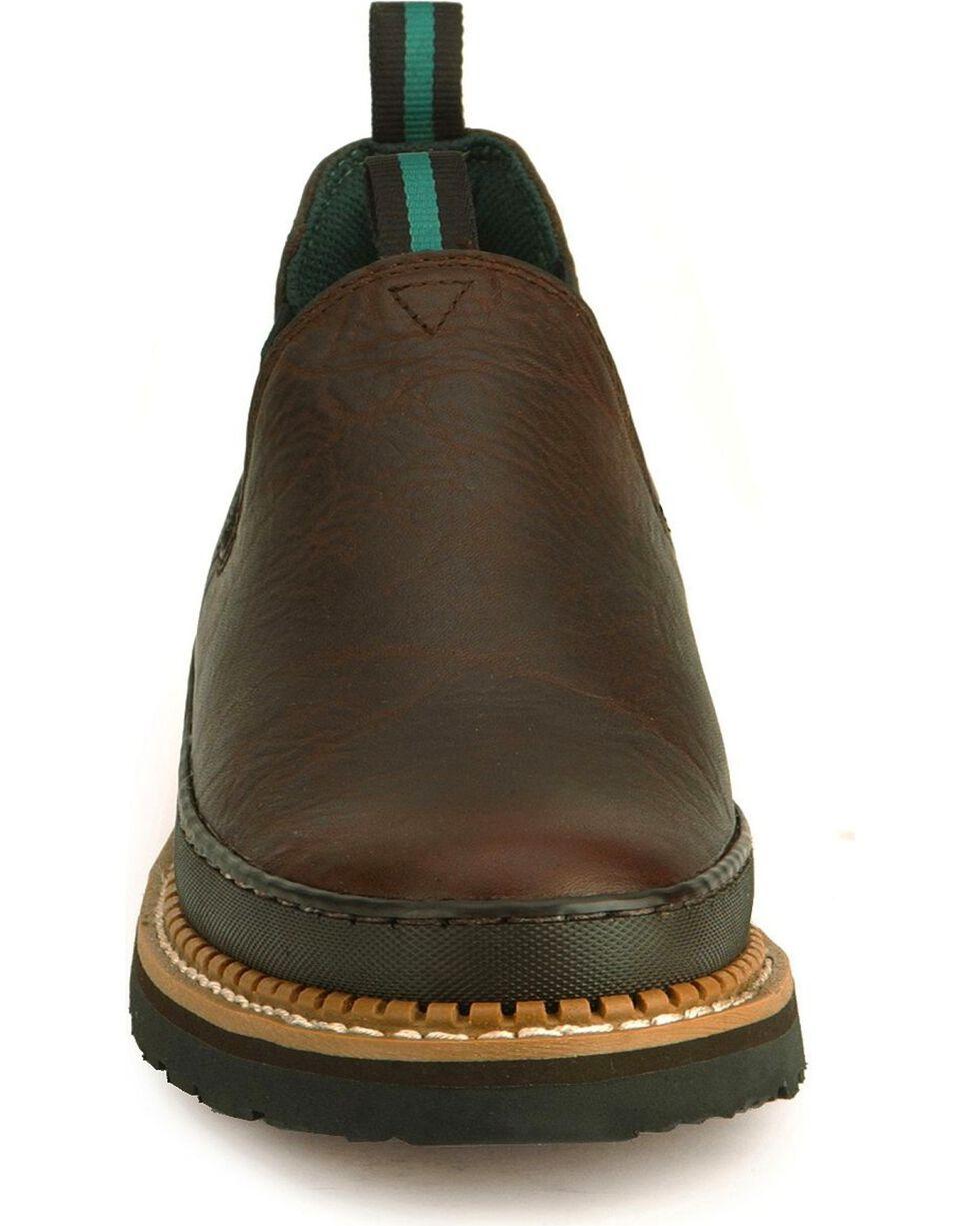 Georgia Men's Georgia Giant Work Shoes, Dark Brown, hi-res