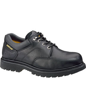 CAT Men's Ridgemont Work Shoes, Black, hi-res