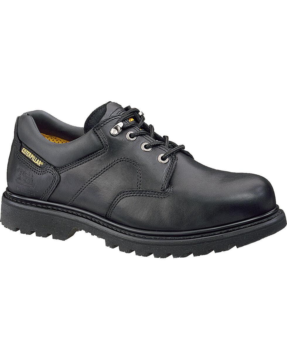 CAT Men's Ridgemont Work Shoes, Black, hi-res