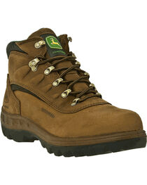 "John Deere® Men's WCT Waterproof Safety Toe 5"" Hiking Boots, , hi-res"