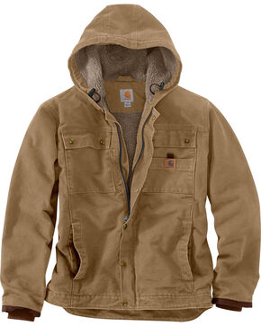 Carhartt Men's Bartlett Jacket - Big & Tall, Brown, hi-res