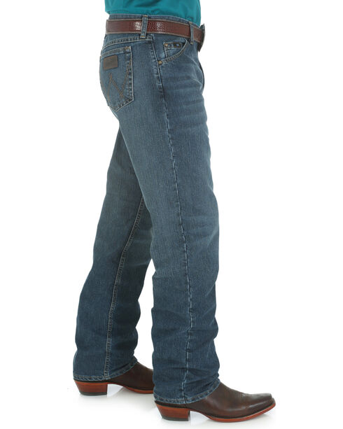 Wrangler Men's 20X Cool Vantage Competition Jeans - Storm Blue, Denim, hi-res