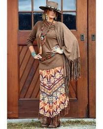Tasha Polizzi Women's Harvest Blanket Skirt , , hi-res