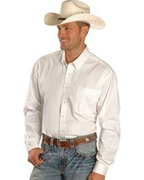 Cinch Men's Solid Long Sleeve Western Shirt, , hi-res