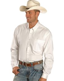 Cinch Men's Long Sleeve Solid Western Shirt, , hi-res