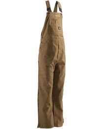 Berne Men's Original Unlined Duck Bib Overalls - Extra Short, , hi-res