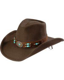 Bullhide Women's Jewel Of The West Wool Hat, , hi-res