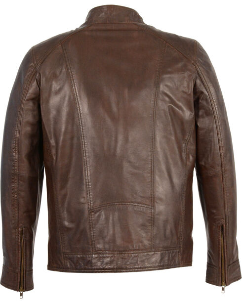 Milwaukee Leather Men's Sheepskin Moto Leather Jacket - 4X , , hi-res