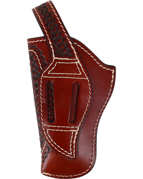 3D Tan Basketweave Revolver Holster, Tan, hi-res