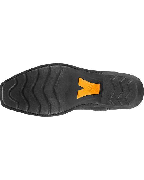 Ariat Men's Heritage Roughstock Western Boots, Black, hi-res