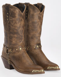 "Sage Boots by Abilene Women's 11"" Concho Western Boots, , hi-res"