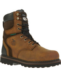 Georgia Men's Waterproof Brookville Work Boots, , hi-res