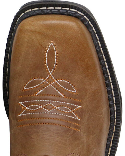 Cody James® Boys' Embroidered Western Boots, Tan, hi-res