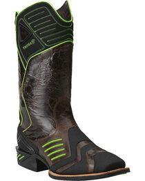 Ariat Catalyst VX Green Cowboy Boots - Square Toe, , hi-res