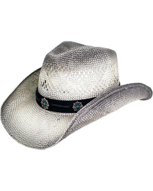 Peter Grimm Women's Grey Cora Cowgirl Hat , Grey, hi-res