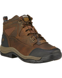Ariat Men's Terrain Wide Square Steel Toe Endurance Boots, , hi-res