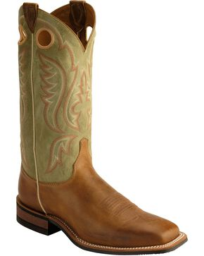 Justin Men's Bent Rail Boots, Tan, hi-res