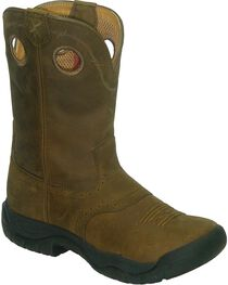 Twisted X Women's All Around Western Boots, Brown, hi-res