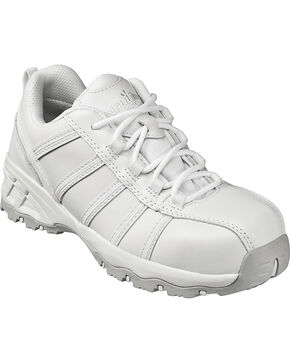Nautilus Women's Composite Toe EH Athletic Work Shoes, White, hi-res