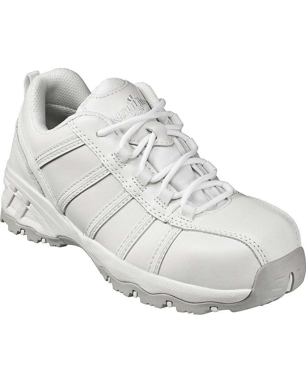 Nautilus Women's Composite Toe EH Athletic Work Shoes, White, hi-res