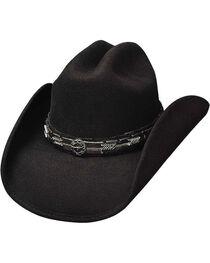 Bullhide Men's Pass The Buck Wool Hat, , hi-res