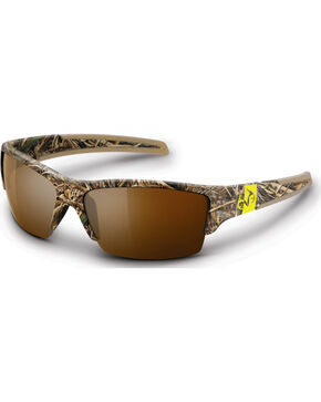 Realtree Men's Max-5® Camouflage Ramrod Sunglasses, Camouflage, hi-res