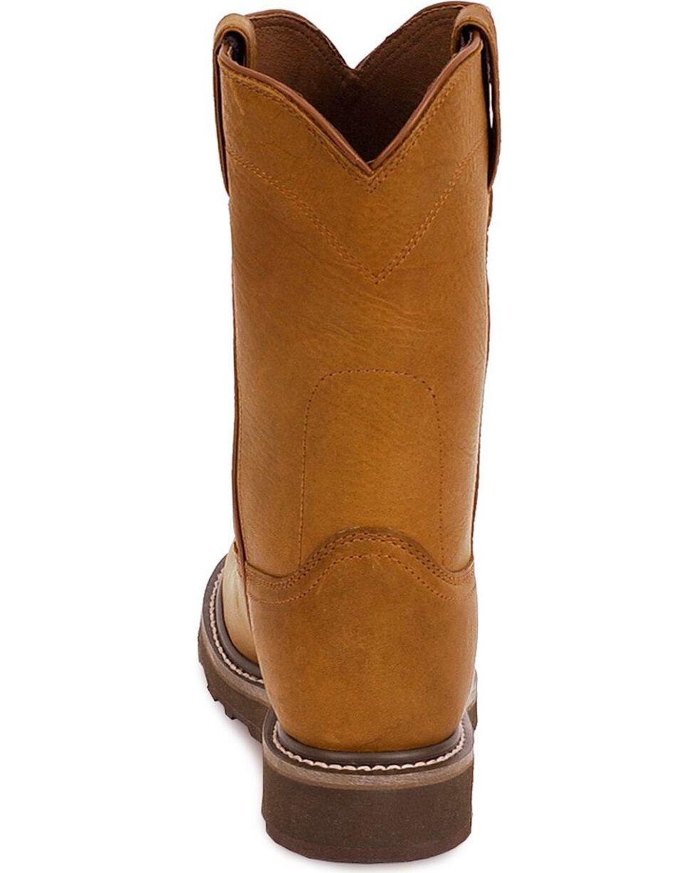 Justin Men's Warren Pull-On Work Boots - Soft Toe, , hi-res