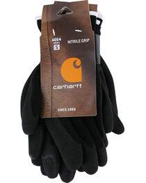 Carhartt Men's Thermal Sandy Nitrile Grip Gloves , , hi-res