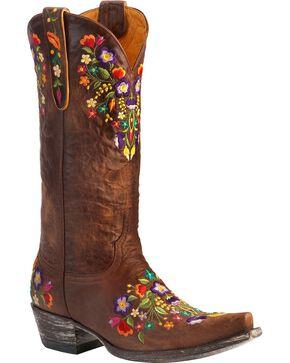 Old Gringo Women's Sora Western Boots, Brass, hi-res