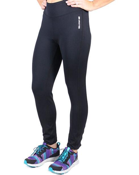 AriatTek Women's Circuit Leggings, Black, hi-res