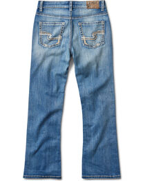 Silver Jeans Boys' Zane Medium Wash Boot Cut Jeans, , hi-res