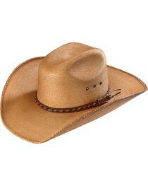 Larry Mahan 30X Lawton Palm Straw Cowboy Hat, , hi-res