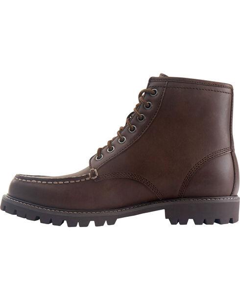 Eastland Men's Brown Lucas Moc Toe Boots , Brown, hi-res