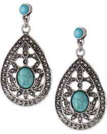 Shyanne® Women's Vintage Teardrop Earrings, , hi-res