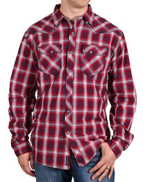 Moonshine Spirit® Men's Red Dirt Long Sleeve Western Shirt, , hi-res
