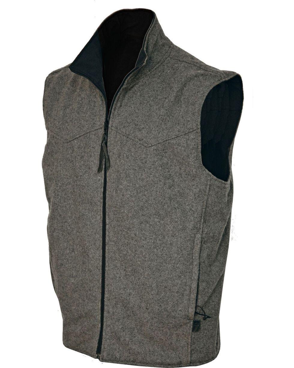 STS Ranchwear Men's Ewing Reversible Grey Vest - Big & Tall - 2XL-3XL, , hi-res