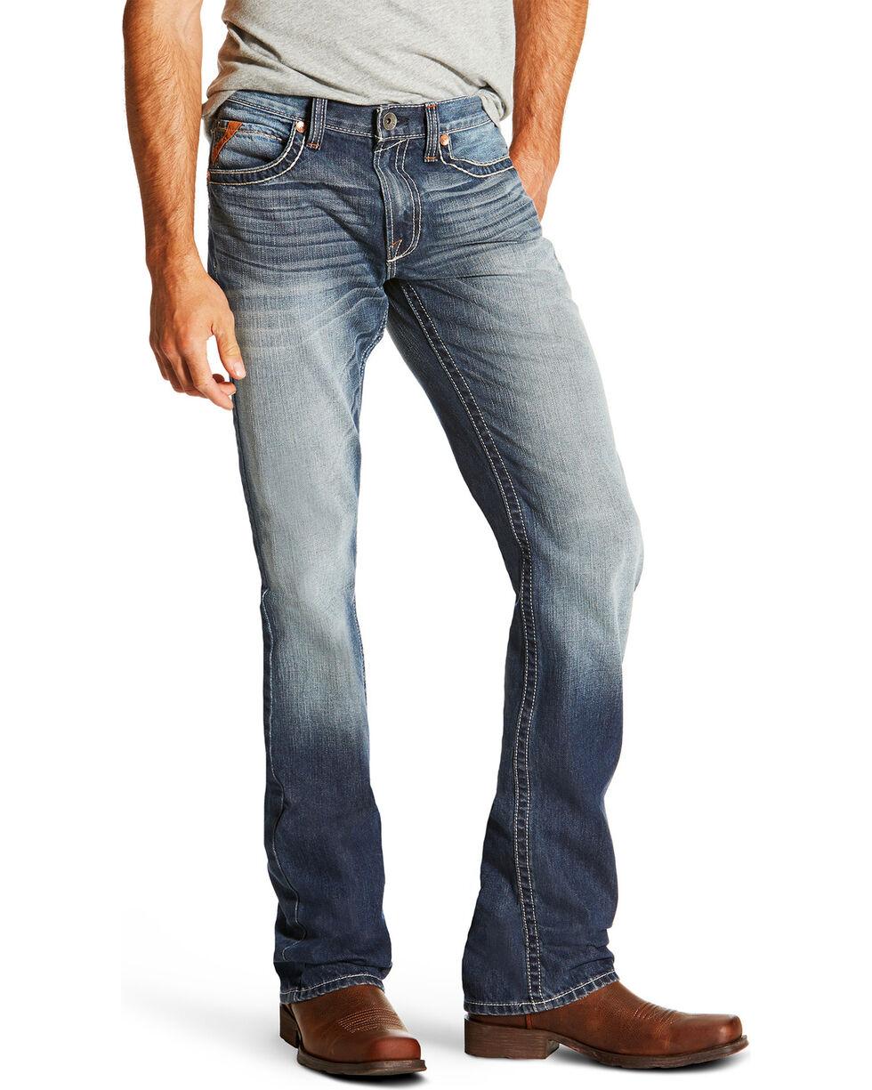 Ariat Men's M5 Davis Atlantic Boot Cut Jeans, , hi-res