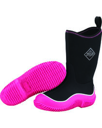 Muck Girls' Pink/Black Hale Outdoor Sport Boots, , hi-res
