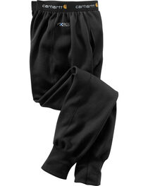 Carhartt Men's Black Base Force Extremes Super-Cold Weather Bottoms , , hi-res