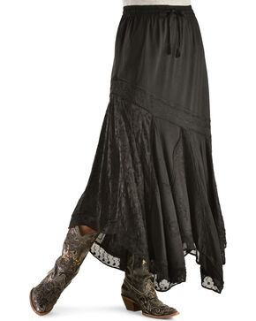 Scully Women's Country Maxi Skirt, Black, hi-res