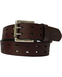 Berne Men's Genuine Leather Double Row Belt , , hi-res