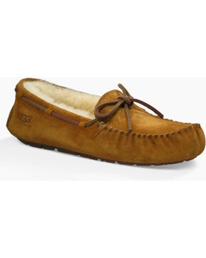 UGG Women's Chestnut Dakota Moccasins , Chestnut, hi-res